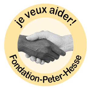 Fondation Peter Hesse Je veux aider button